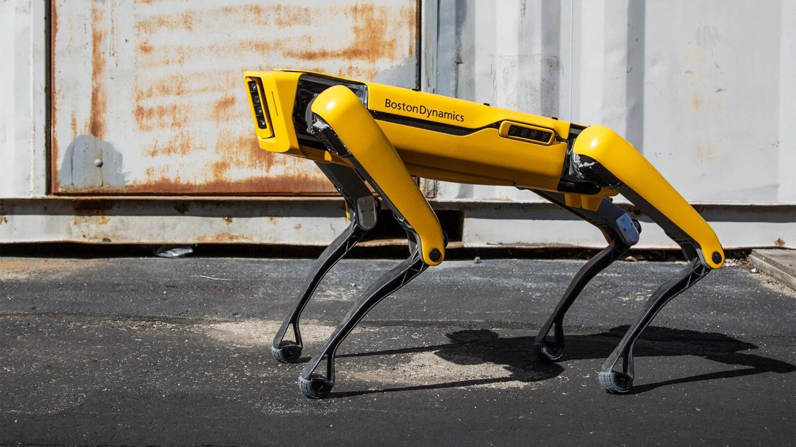 روبوت من شركة بوسطن ديناميكس