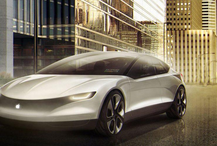 شكل تخيلي لسيارة آبل المستقبلية