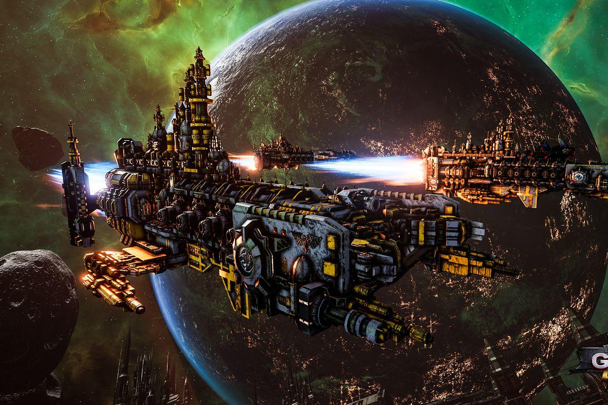 لعبة Battlefleet Gothic
