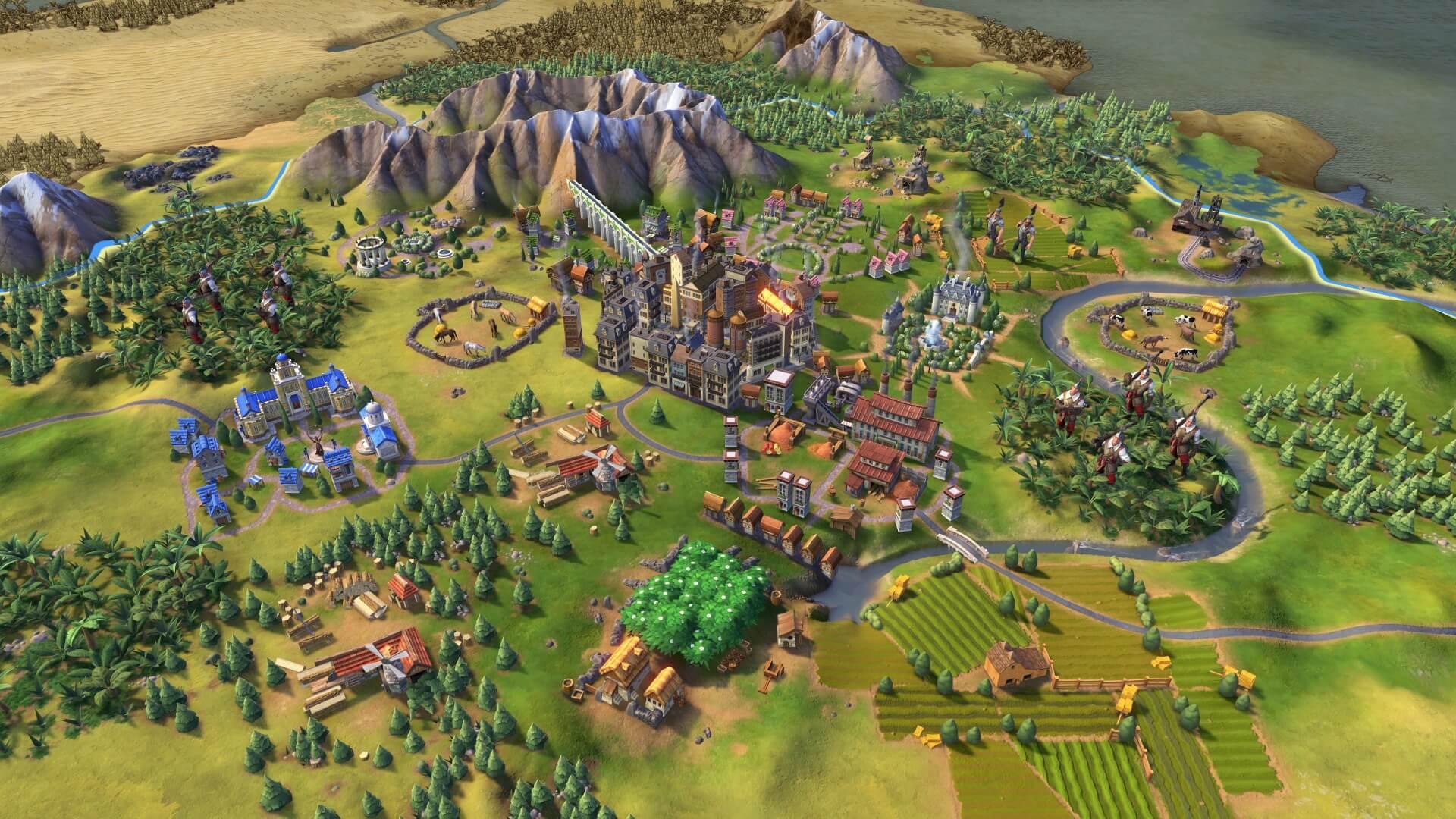 لعبة Sid Meiers Civilization 6