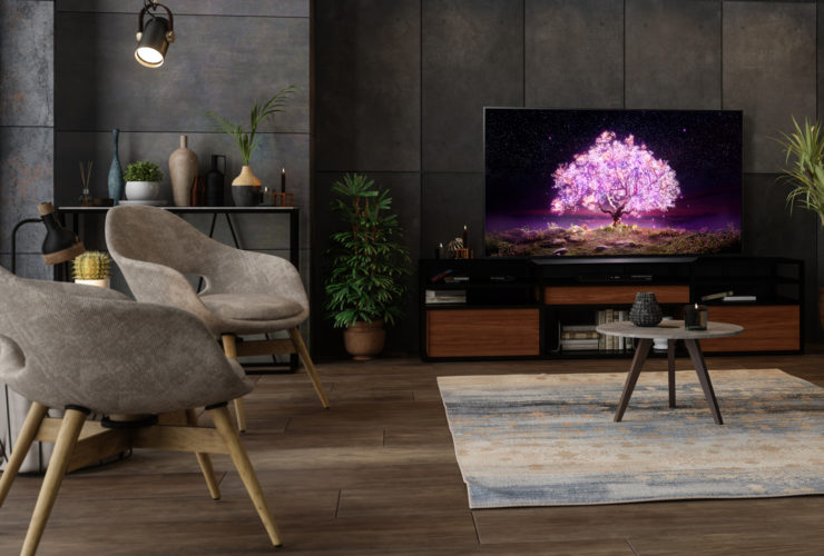 تلفزيون إل جي OLED فئة C1