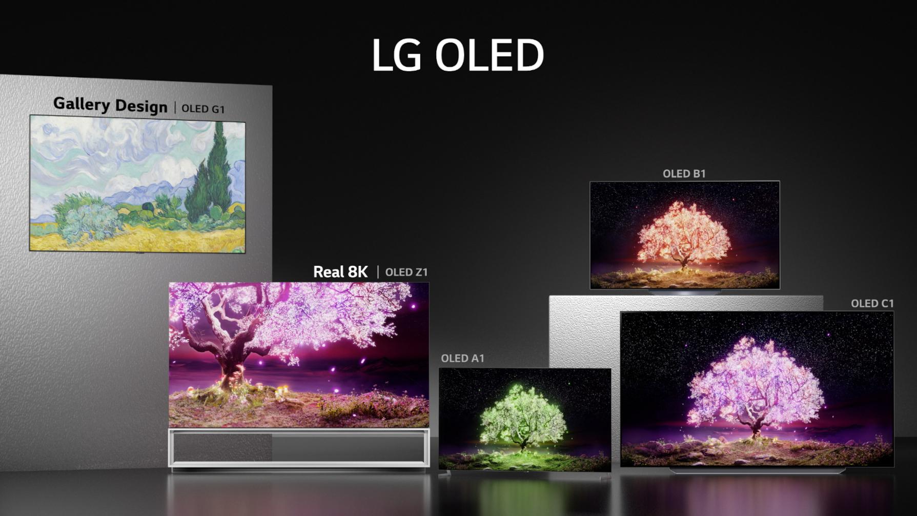 سلسلة تلفزيونات LG 2021 OLED الجديدة - إل جي