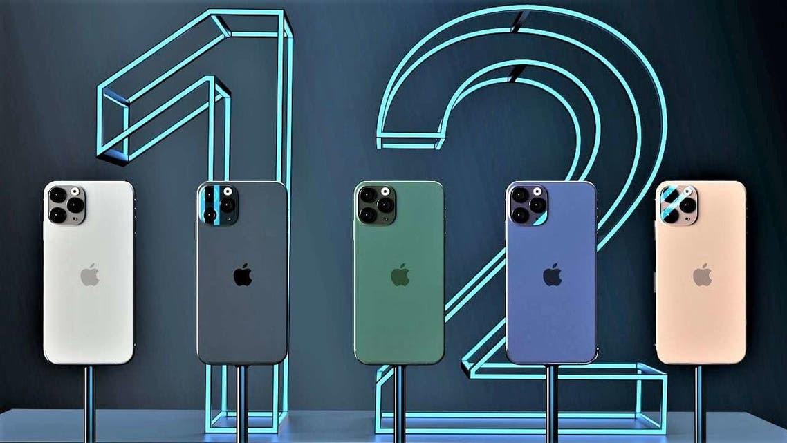 مجموعة من هواتف آيفون 12 - آبل