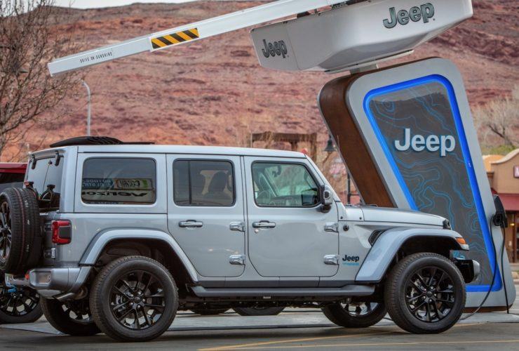 محطة شحن Jeep الكهربائية
