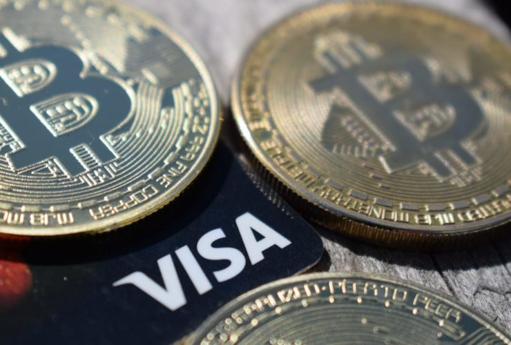 Visa والعملات الرقمية