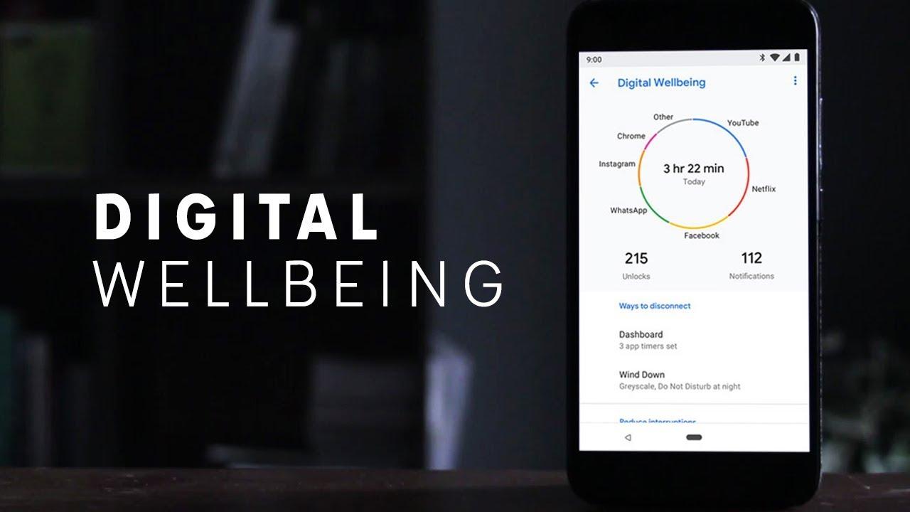 تطبيق Digital Wellbeing