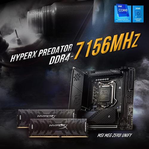 ذاكرة HyperX Predator DDR4