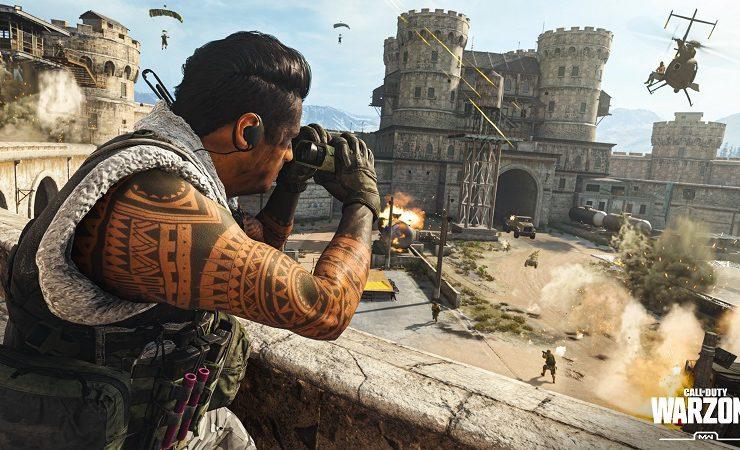 لعبة Call of Duty: Warzone