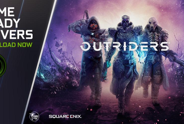 لعبة Outriders - إنفيديا