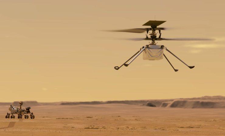 مروحية إنجينيوتي الروبوتية - ناسا