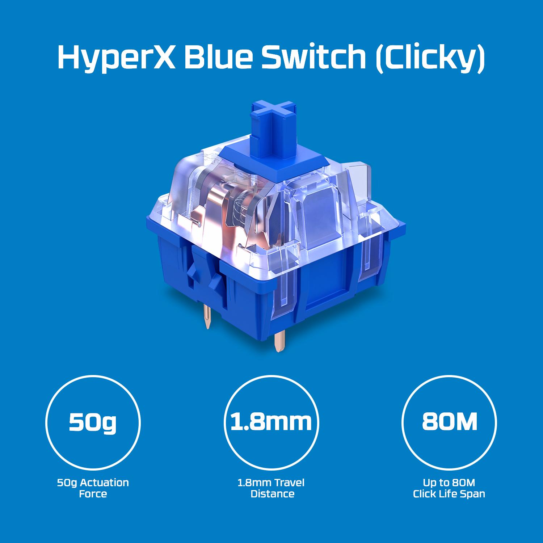 مميزات لوحة مفاتيح HyperX Alloy Origins Core