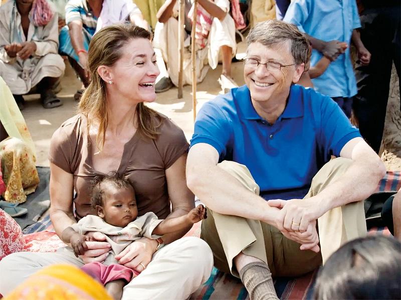 مؤسسة غيتس الخيرية - انفصال بيل غيتس وميليندا غيتس