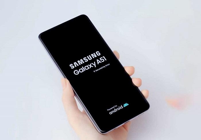 سامسونج جالكسي A51 - كيفية اعادة تشغيل هاتف اندرويد