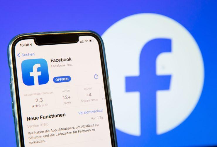 فيسبوك تصل لأدنى التقييمات على آب ستور