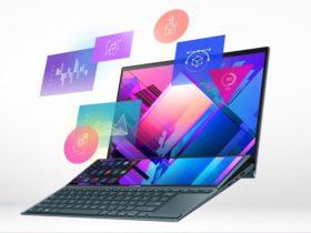 لابتوب Asus ZenBook Duo 14 - أسوس