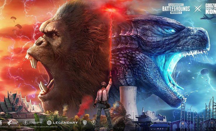 Godzilla vs Kong - ببجي موبايل نسخة 1.4