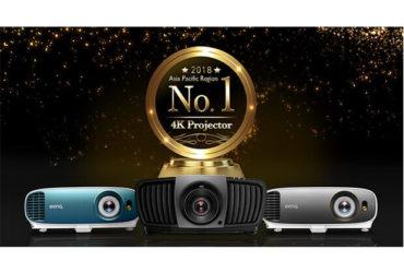 بينكيو تحتل المرتبة الأولى في مجال أجهزة العرض 4K