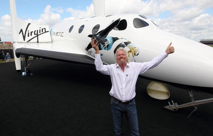 ريتشارد برانسون - نقل الركاب إلى الفضاء
