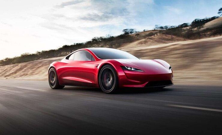 تسلا رودستر - أفضل 10 سيارات تعمل بالكهرباء