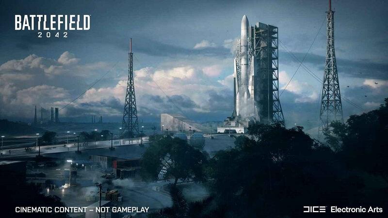 صواريخ سبيس إكس في باتل فيلد 2042