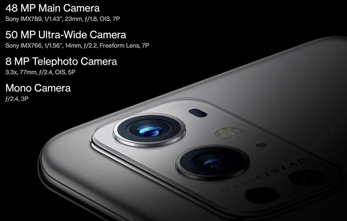 كاميرات ون بلس 9 برو