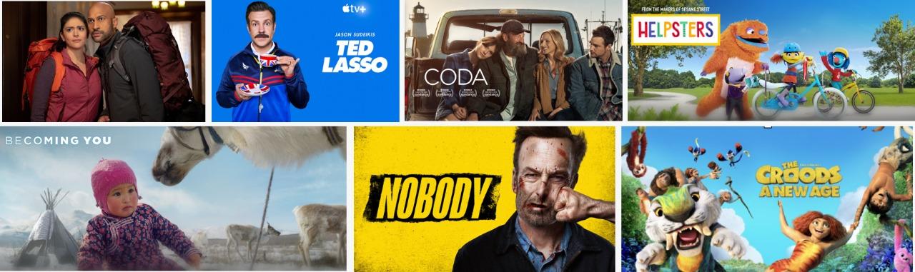 إصدارات الأفلام والبرامج العائلية الصيفية على منصة Apple TV