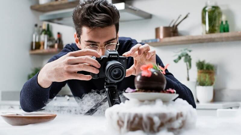 التقاط الصور - كاميرا Canon EOS M50 Mark II