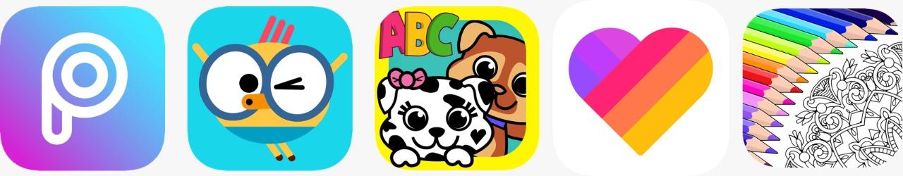 متجر App Store - تطبيقات Apple المختارة للأطفال خلال فصل الصيف