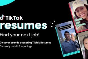 تيك توك - تيك توك تختبر أداة للتقدم إلى الوظائف