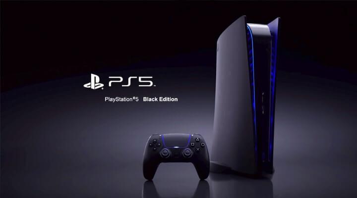 جهاز PS5 الإصدار الأسود - 10 ملايين وحدة تحكم PS5