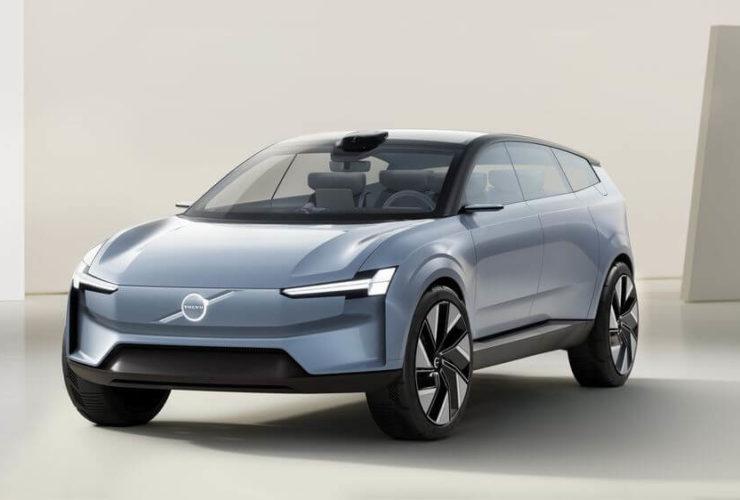 سيارة Concept Recharge - مفهوم السيارات الكهربائية