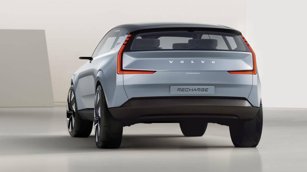 سيارة Volvo Concept Recharge 4