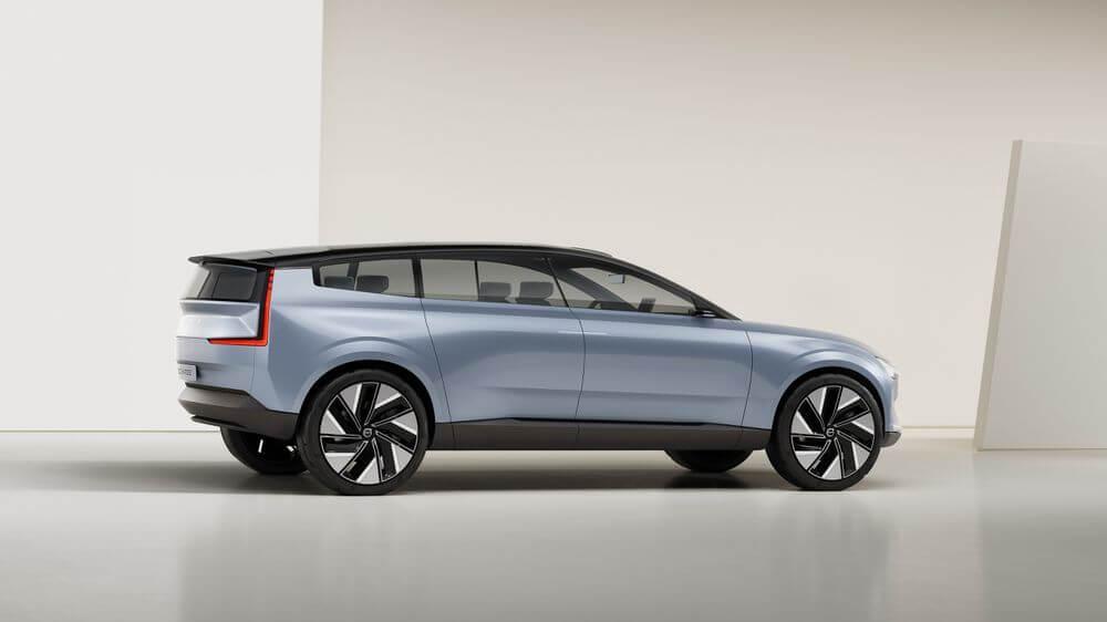 سيارة Volvo Concept Recharge 5