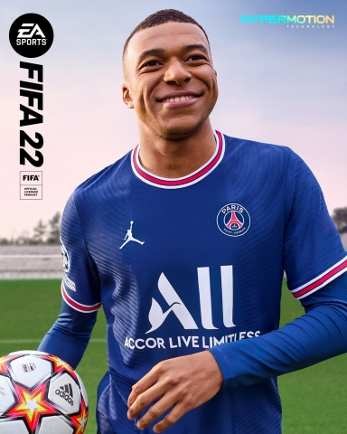 غلاف لعبة FIFA 22