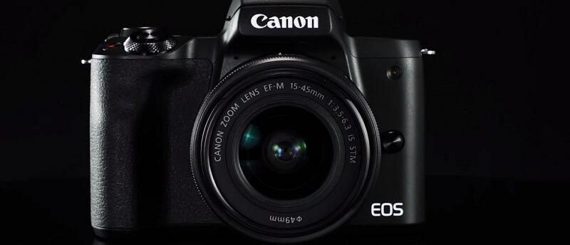 كاميرا Canon EOS M50 Mark II الجديدة