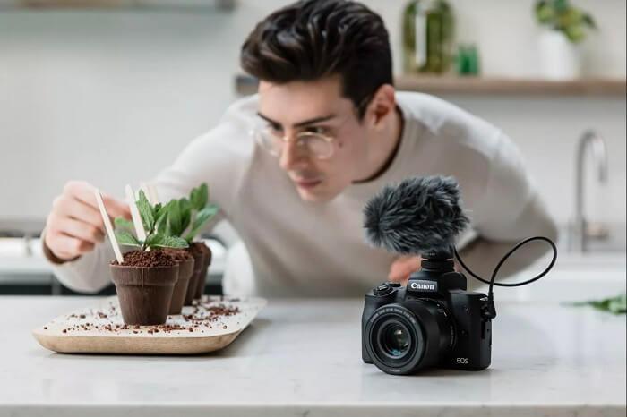 كاميرا Canon EOS M50 Mark II