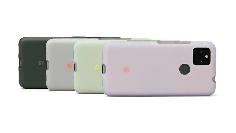Google Pixel 5A - أربعة خيارات ألوان لهاتف بيكسل 5 أيه