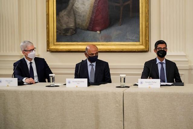 اجتماع البيت الأبيض - الأمن السيبراني