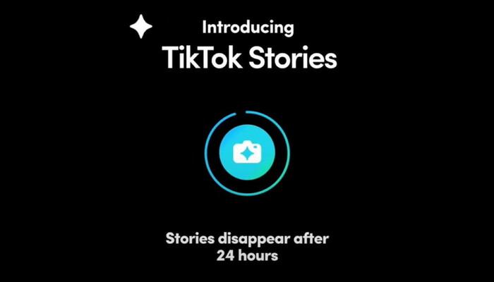 تيك توك تختبر ميزة القصص