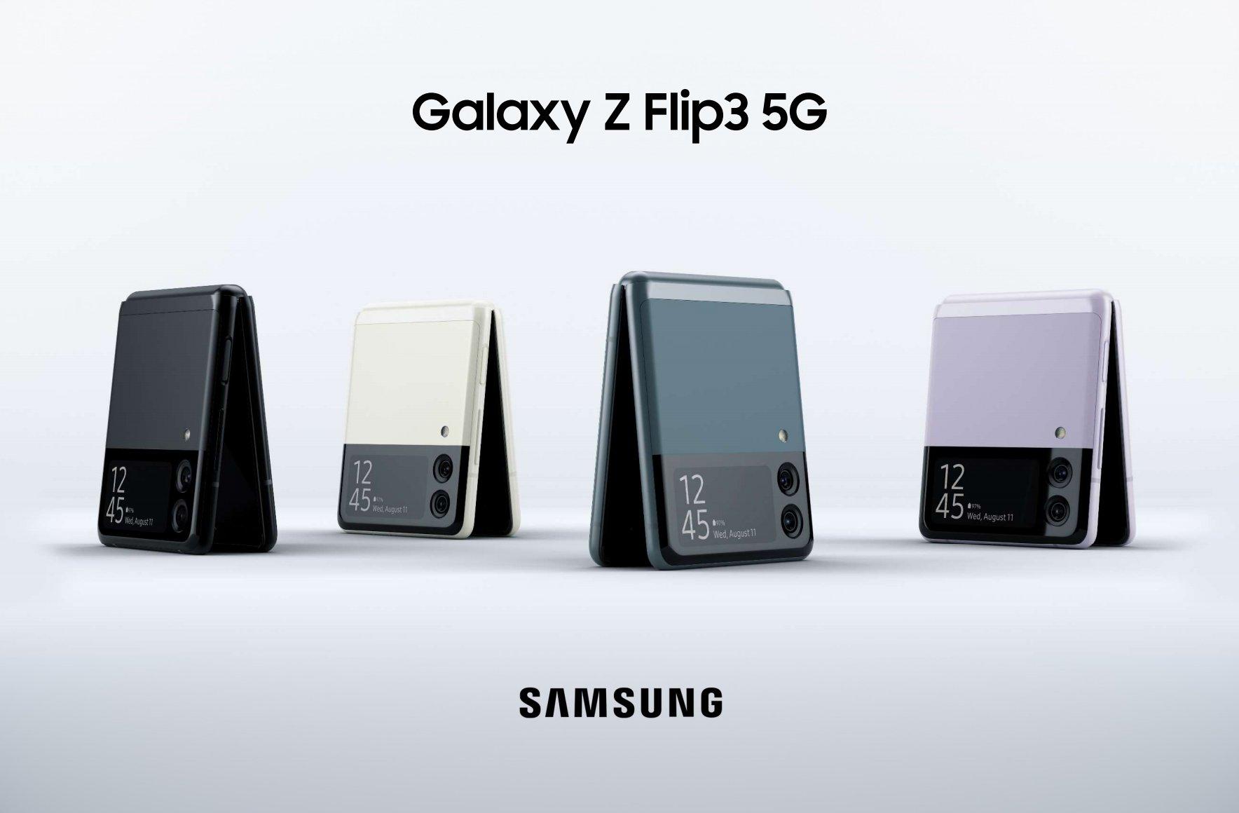 جالاكسي Z flip3 5G