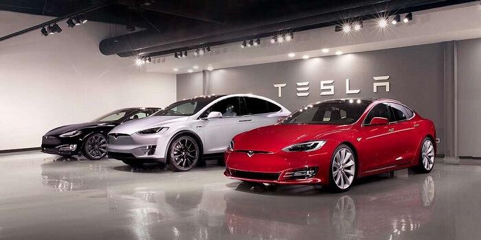 سيارات تسلا الكهربائية