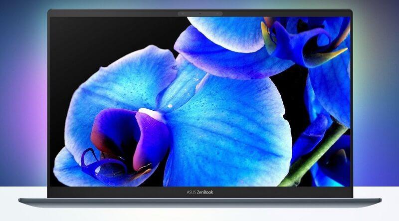 الشاشة - ASUS ZenBook 13 OLED