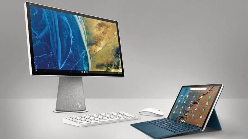 شركة HP تقدم تجارب نظام كروم أو إس