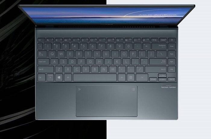 لوحة المفاتيح - ASUS ZenBook 13 OLED