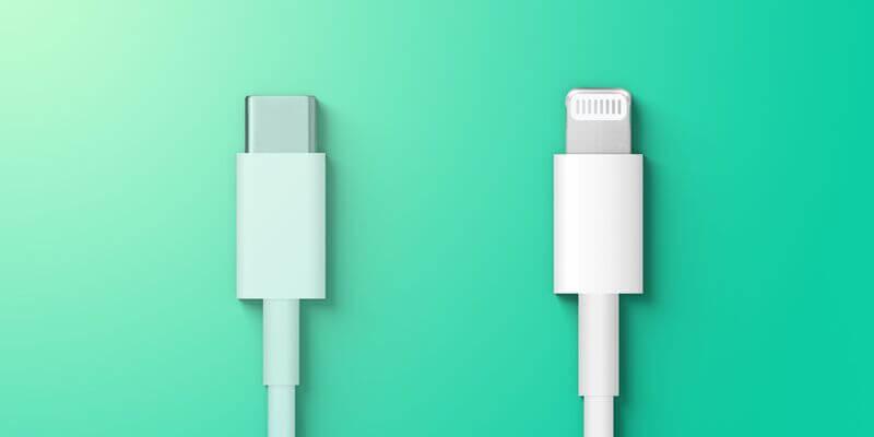 وصلات شحن - إجبار آبل على على التحول إلى منفذ USB-C