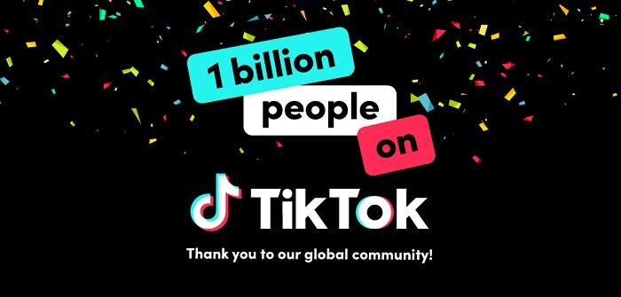 تيك توك يصل إلى مليار مستخدم نشط