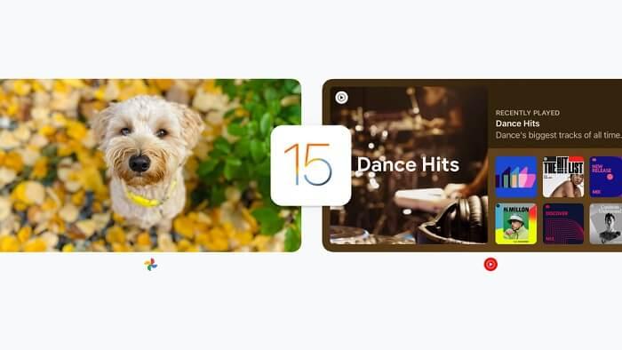 جوجل - تطبيقات جوجل المحدثة في iOS 15