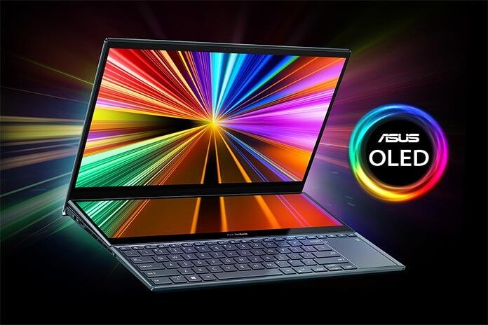 شاشة لابتوب ASUS Zenbook Pro Duo 15 OLED