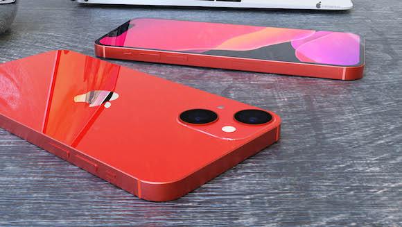 هاتف ايفون 13 ميني احمر