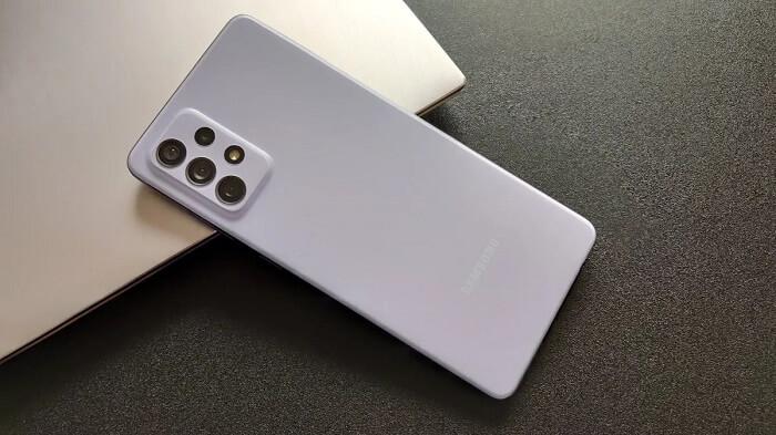 هاتف جالاكسي A72 - كاميرا 108 ميجا بكسل